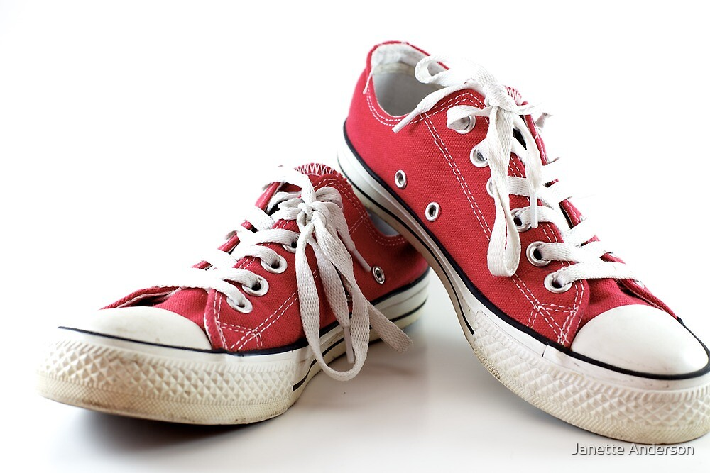Red runners by Janette Anderson