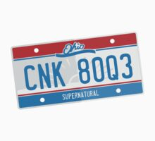 Supernatural - Baby's Ohio Plate Kids Tee