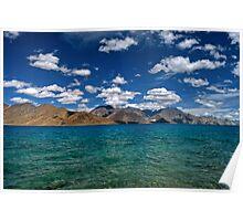 Blue Shores - Pangong Lake Poster