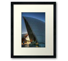 Aria #2 - Angles - Sydney Opera House, Sydney Australia Framed Print