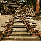 Abandoned Factory Equipment by Adara Rosalie