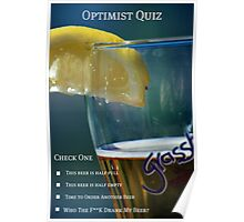 Optimist Quiz Poster