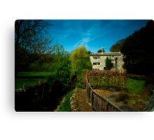 Cottage At Downham Canvas Print