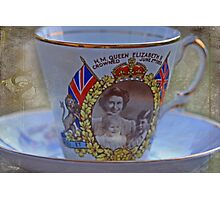 """Tea with the Queen anyone .....?"" Photographic Print"