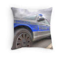 Boston Police Cruiser Throw Pillow
