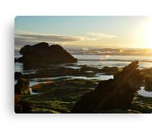 Robe Rock Pools Canvas Print