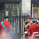 PRINCE WILLIAM AND PRINCE HARRY GOING IN TO THE ABBEY by Marie Brown ©