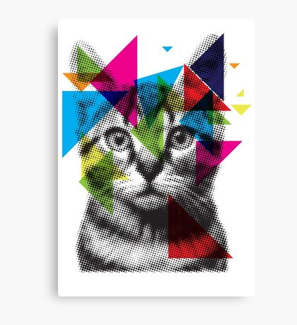 Translucent Furry Friend Canvas Print
