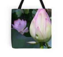 Lotus Bud Tote Bag