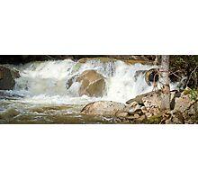 Water Falls (Tasmania) Photographic Print