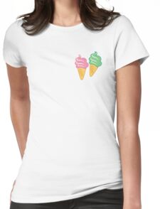 Ice Creams -01 Womens Fitted T-Shirt