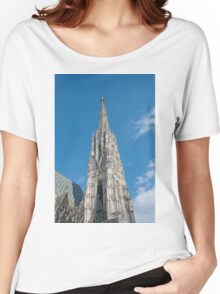 Vienna Austria St. Stephen's Cathedral (Stephansdom) Women's Relaxed Fit T-Shirt