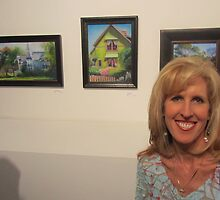 "Chemers Gallery ""Scenes of Tustin"" Art Exhibtion by Leslie Gustafson"