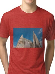 Vienna Austria St. Stephen's Cathedral (Stephansdom) Tri-blend T-Shirt