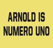 Arnold Is Numero Uno One Piece - Short Sleeve