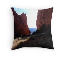 Garden of the Gods Throw Pillow
