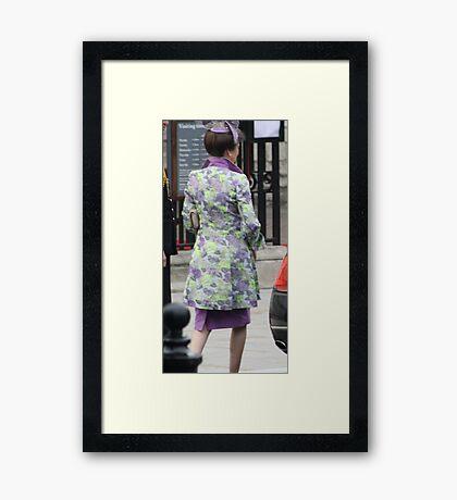 PRINCESS ANNE  Framed Print