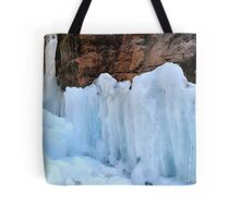 Icy sculptures Tote Bag