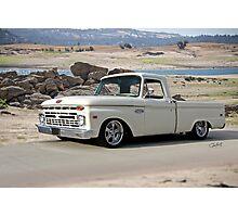 1965 Ford 'Twin I Beam' Custom Pickup Photographic Print