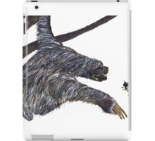 THE SLOTH & THE BUMBLE BEE iPad Case/Skin