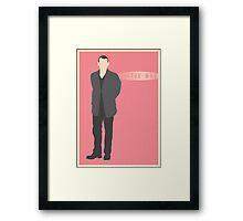 Doctor Who - Christopher Eccleston Framed Print
