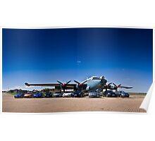 Nissan 350Z Range - Avro Shackleton MkIII Poster