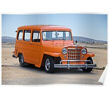 1950 Willys 'Jeep' Wagon Poster