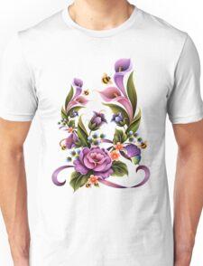 Enchanted Flowers  Unisex T-Shirt