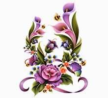 Enchanted Flowers  Womens Fitted T-Shirt