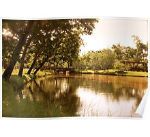Ad lacum meridiem - Afternoon at the lake Poster