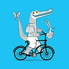 The Crococycle by Oliver Lake