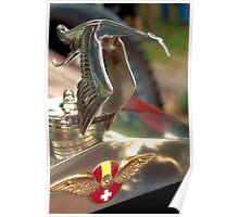 1922 Hispano Suiza Labourdette Mascot Poster