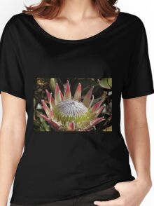 The King Protea (Protea cynaroides) Women's Relaxed Fit T-Shirt