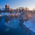 St Eata's mid winter by Paul Whittingham