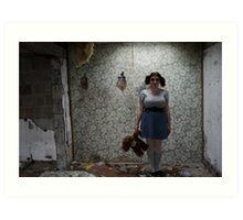 Cornwall Motel - Abandoned Art Print