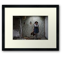 Cornwall Motel - Abandoned Framed Print