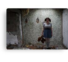 Cornwall Motel - Abandoned Canvas Print