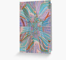 Brick Abstract Greeting Card