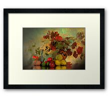 Fruit of Life - Still Life Photography Framed Print