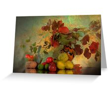 Fruit of Life - Still Life Photography Greeting Card