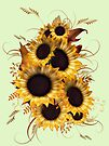 Sunflowers  by LoneAngel