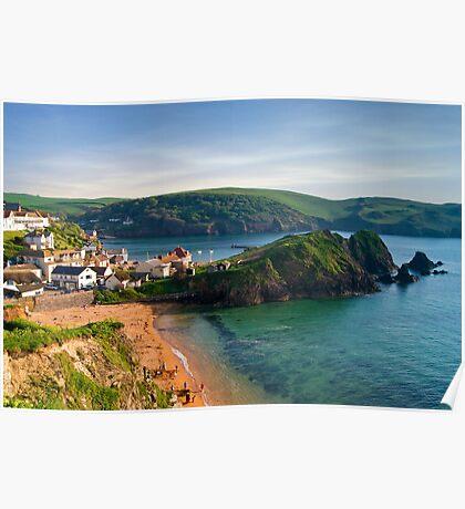 Hope Cove, Devon, England Poster