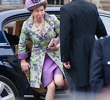 Princess Anne Arrives by oliverhollis