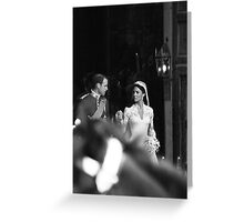 Shared moment Greeting Card