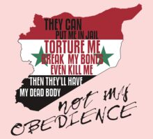 SYRIA DISOBEDIENCE  T-Shirt