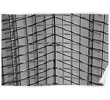 Parallel Lines - Galerie de la Reine Brussels Poster