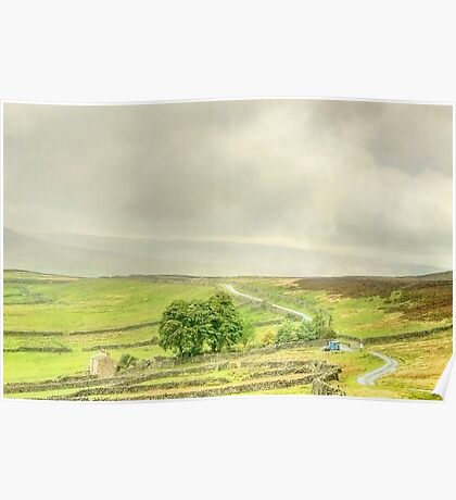 The Yorkshire Dales In Late Summer Poster