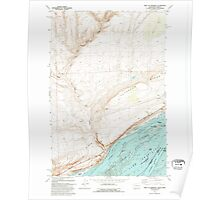 USGS Topo Map Washington West of Paterson 244617 1993 24000 Poster
