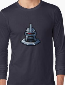 Pixel Cylon with collar Long Sleeve T-Shirt