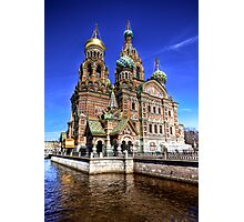 The Church of Our Saviour on Spilled Blood Photographic Print